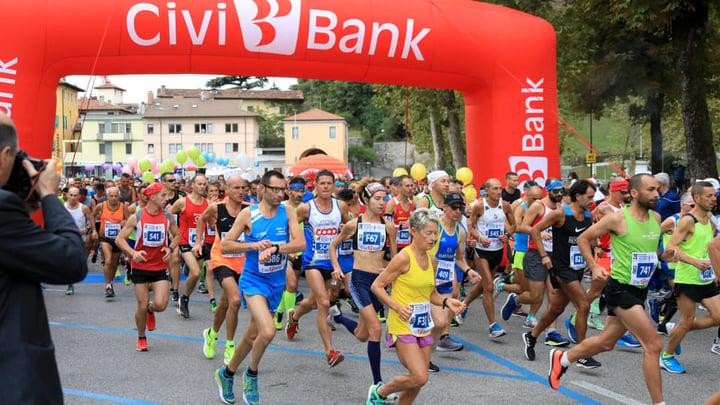Maratonina città di Udine sponsor civibank